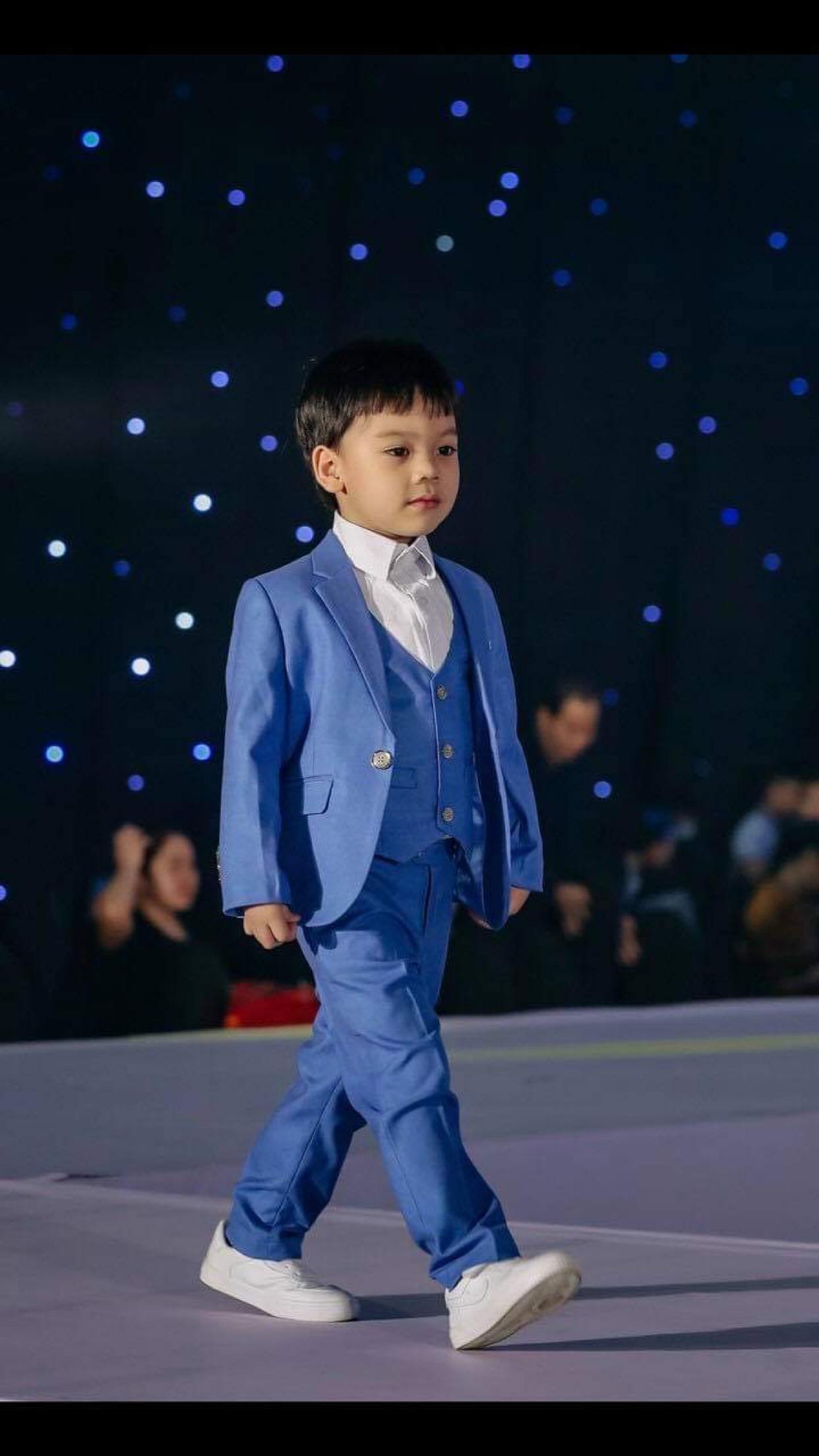 Những bạn nhỏ đáng yêu trong làng thời trang Việt - Ảnh 3.