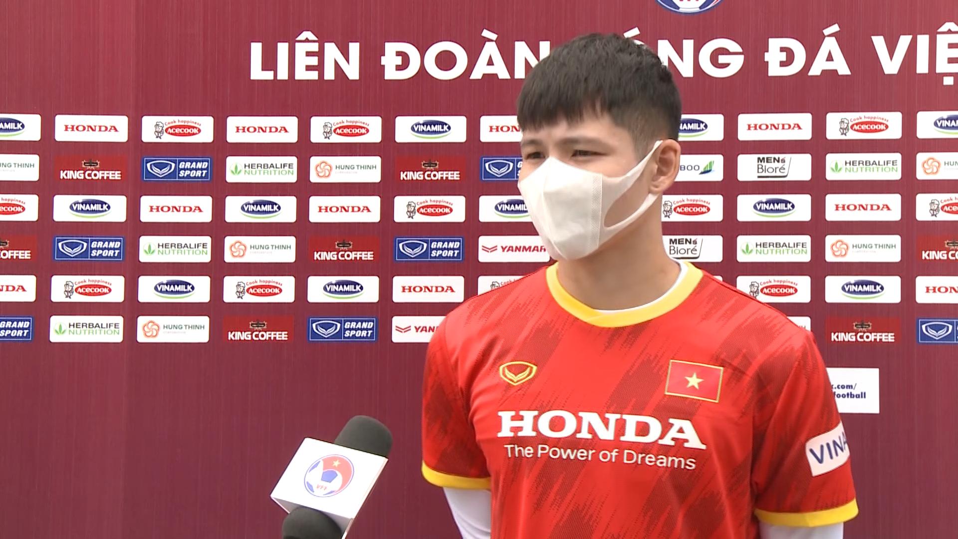 """Liễu Quang Vinh """"bật mí"""" cường độ tập luyện U22 Việt Nam - Ảnh 1."""