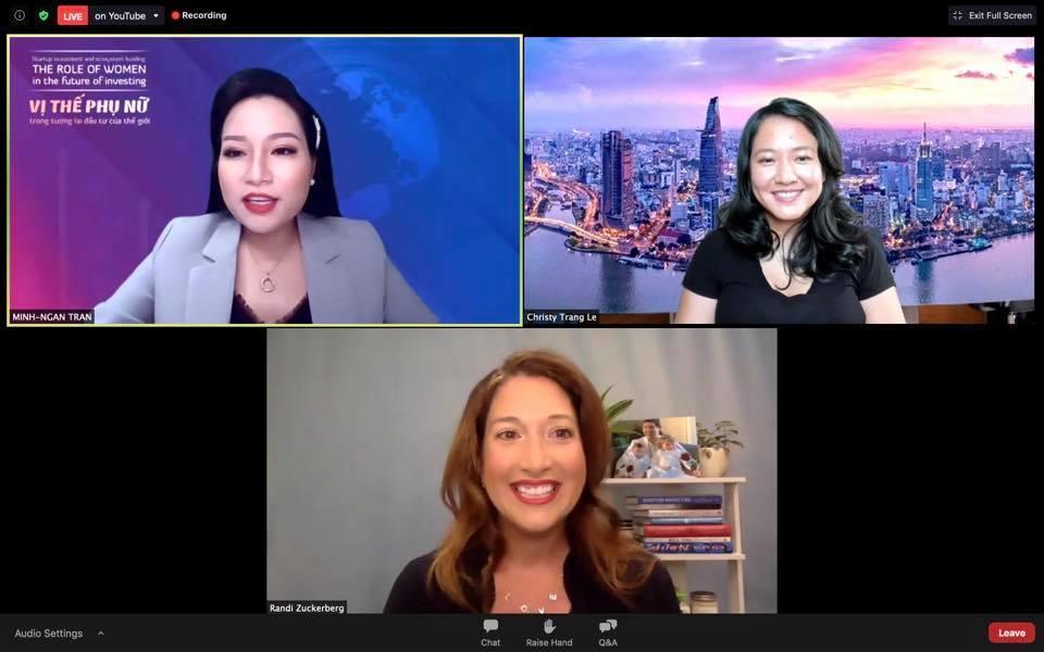 Chị gái của tỷ phú Mark Zuckerberg và bà Lê Diệp Kiều Trang đưa ra lời khuyên gì với các nhà đầu tư nữ? - Ảnh 1.