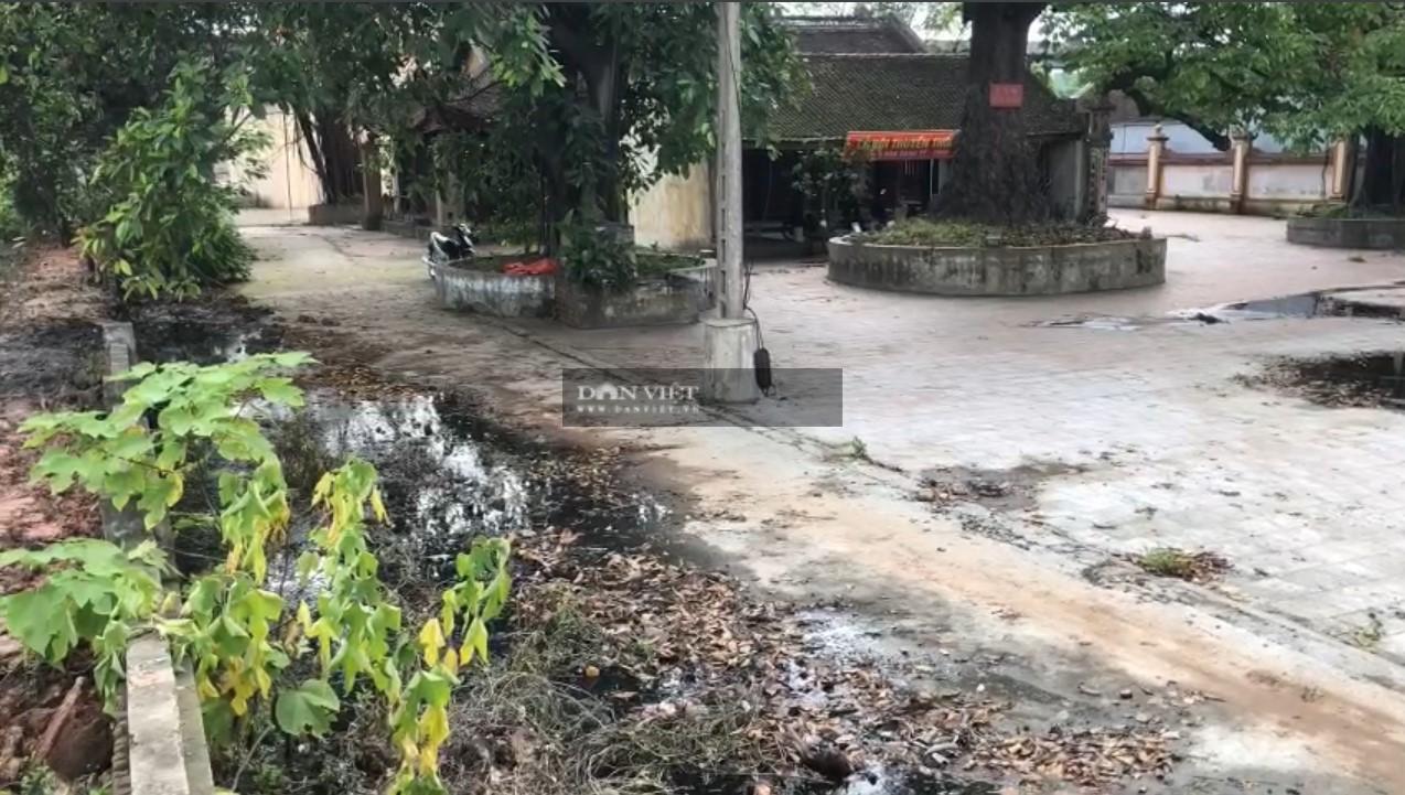 Bắc Ninh: Doanh nghiệp giấy Phú Lâm xả thẳng nước thải độc hại vào đình làng - Ảnh 2.