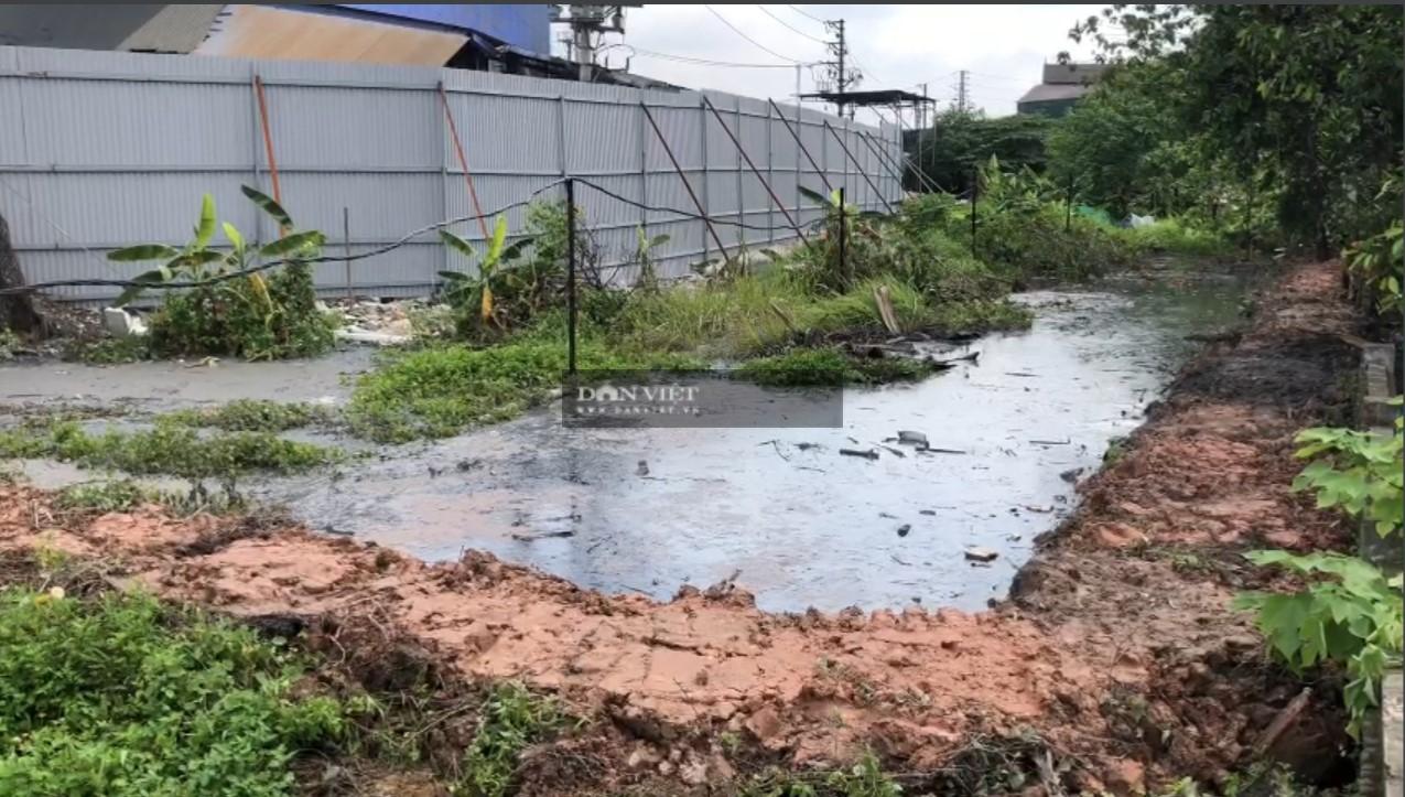 Bắc Ninh: Doanh nghiệp giấy Phú Lâm xả thẳng nước thải độc hại vào đình làng - Ảnh 3.