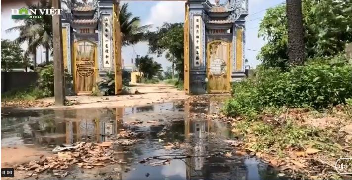 Bắc Ninh: Bị cấm xả thải ra sông, doanh nghiệp giấy Phú Lâm xả thẳng nước thải vào... đình làng - Ảnh 2.