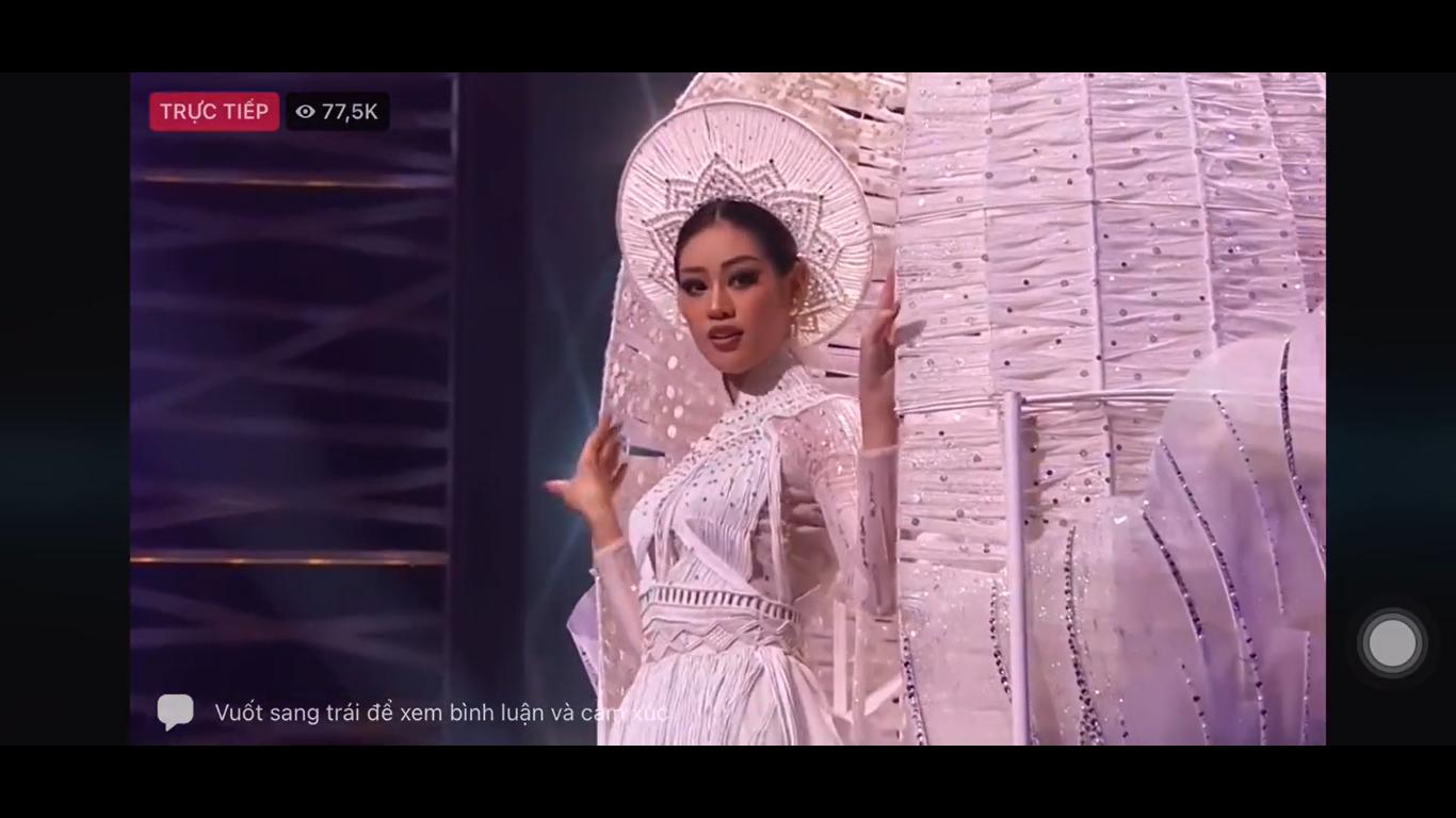 Hoa hậu Khánh Vân gây ấn tượng mạnh với cú xoay nhẹ tựa mây tại Miss Universe - Ảnh 2.