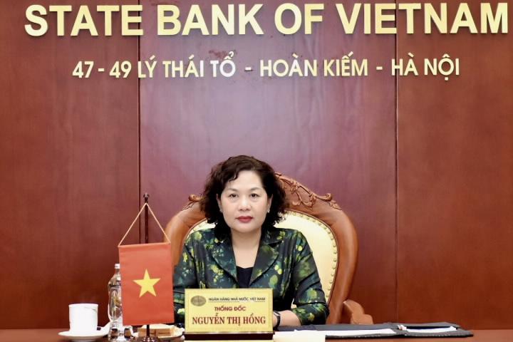 """Thống đốc Nguyễn Thị Hồng nêu lý do Việt Nam """"hấp dẫn"""" vốn ngoại  - Ảnh 1."""