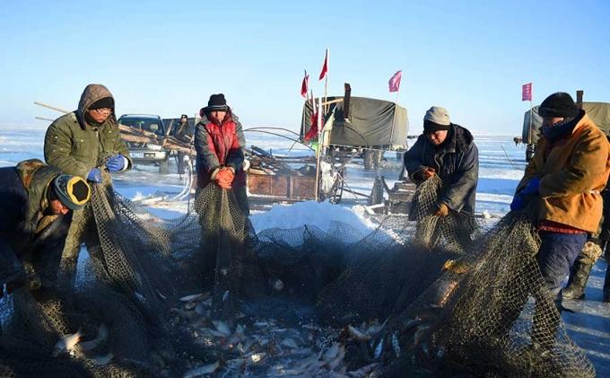 Phương pháp đánh cá cổ đại của người Mông Cổ có thể bắt được hàng ngàn con cá mỗi ngày  - Ảnh 2.