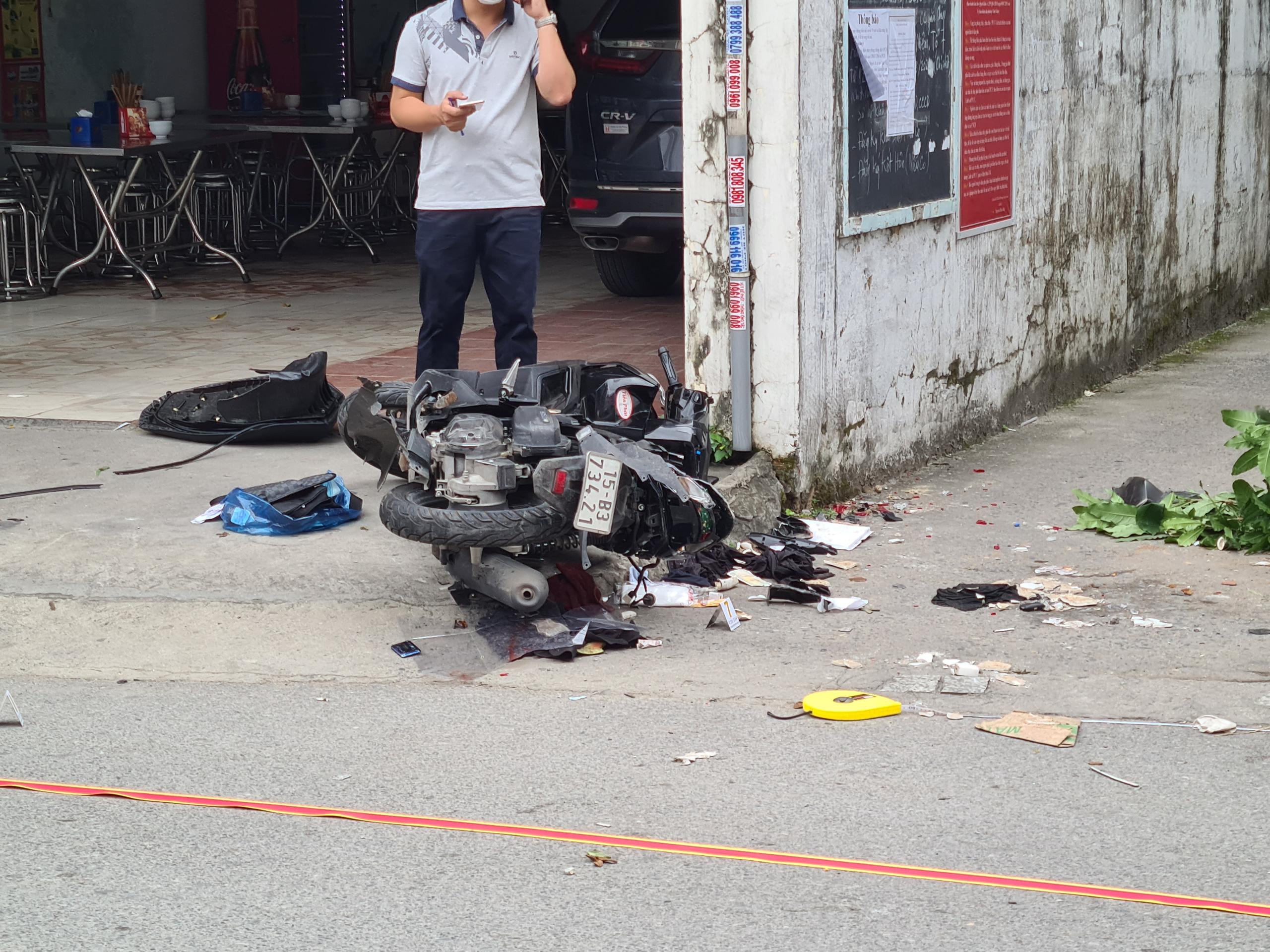 Hải Phòng: Nghi án ô tô truy đuổi xe máy khiến 2 người thiệt mạng - Ảnh 1.