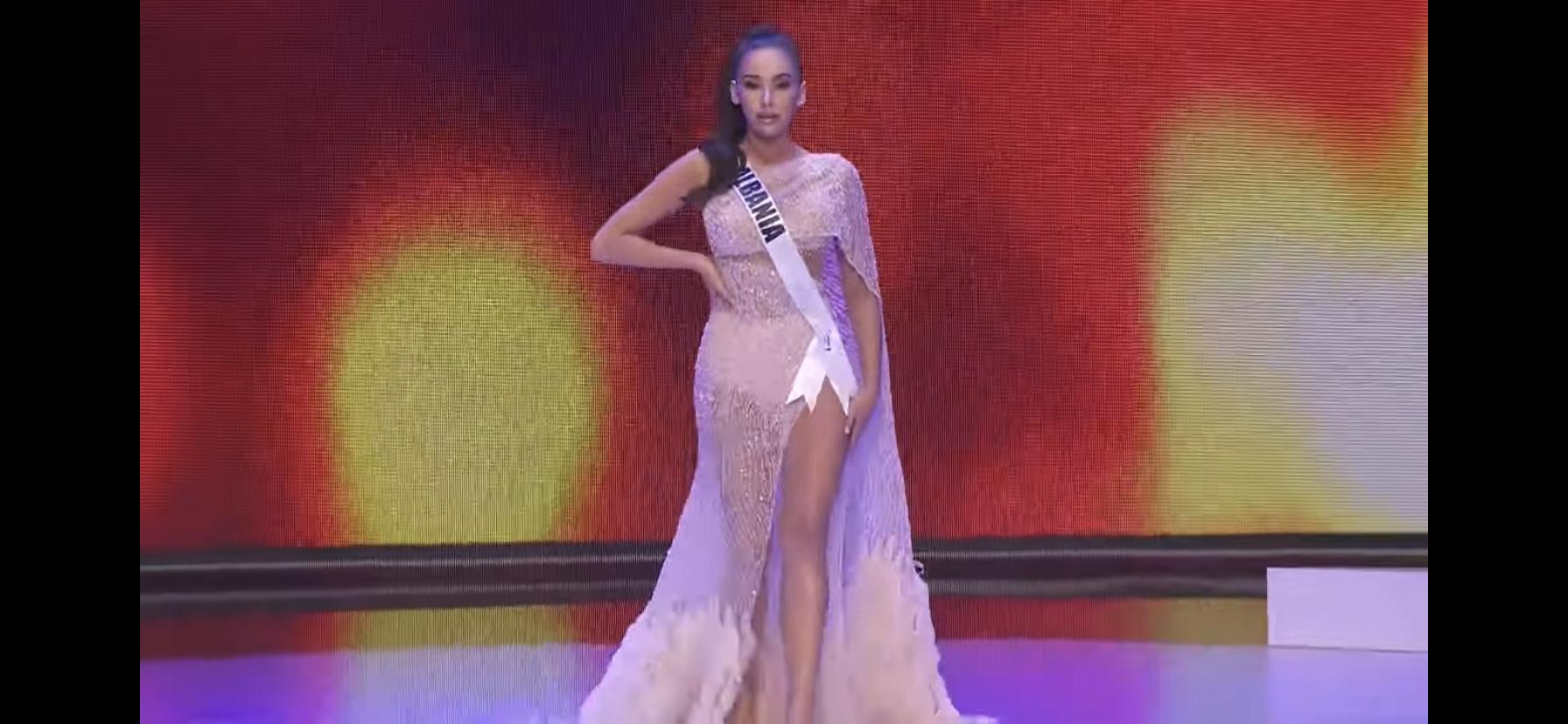 Loạt mỹ nhân Miss Universe 2020 suýt gặp sự cố, để lộ nhược điểm hình thể trong đêm bán kết - Ảnh 15.