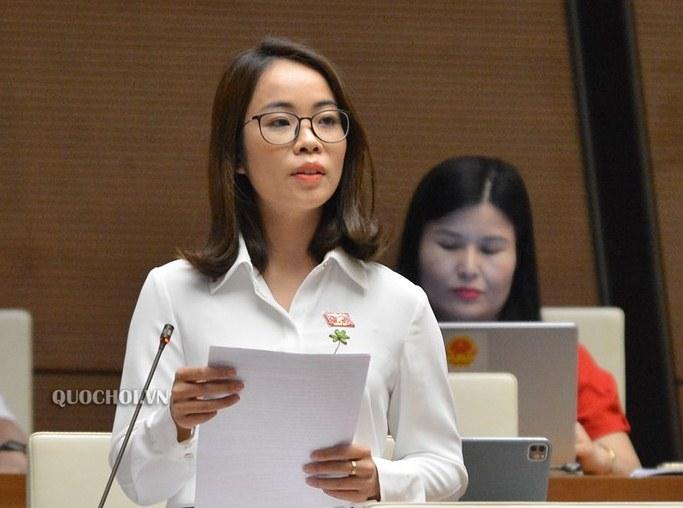 Nữ đại biểu Quốc hội trẻ nhất khóa XIV tiếp tục ứng cử và lời hứa thế nào trước cử tri? - Ảnh 2.