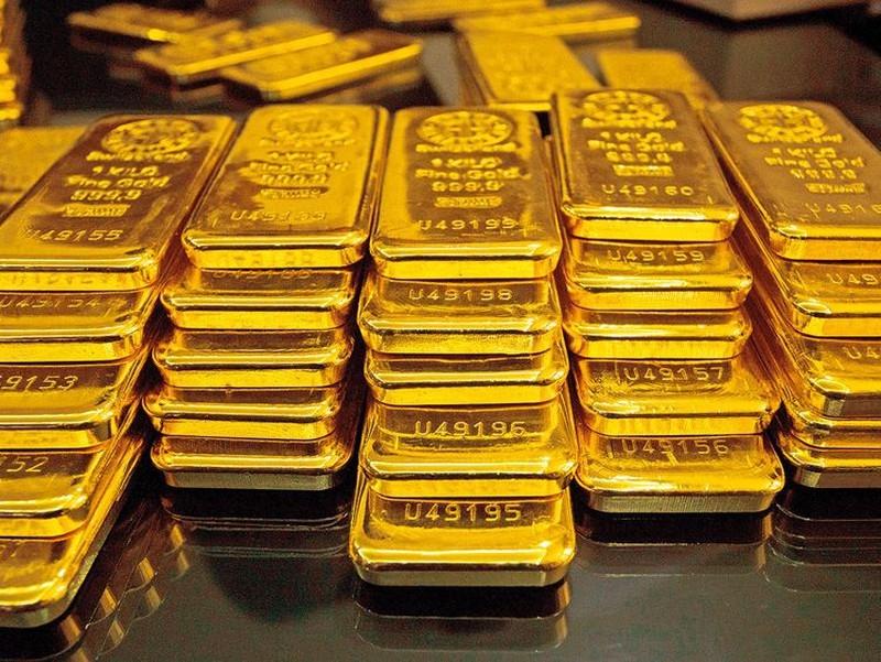 Giá vàng hôm nay 15/5: Đồng USD suy yếu, vàng tăng nhanh - Ảnh 1.