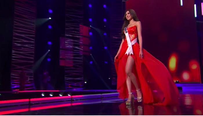 Khánh Vân tỏa sáng rực rỡ tại Bán kết Miss Universe - Ảnh 3.