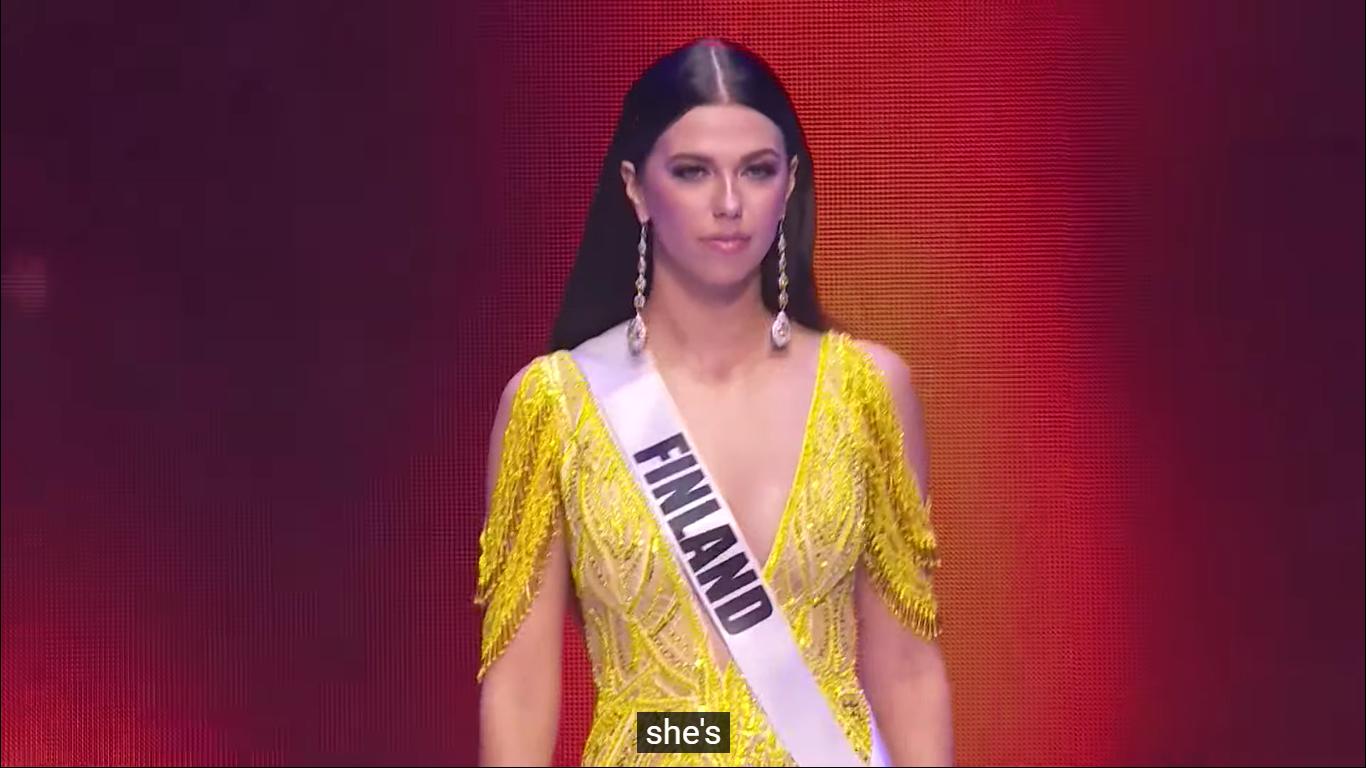 Loạt mỹ nhân Miss Universe 2020 suýt gặp sự cố, để lộ nhược điểm hình thể trong đêm bán kết - Ảnh 9.