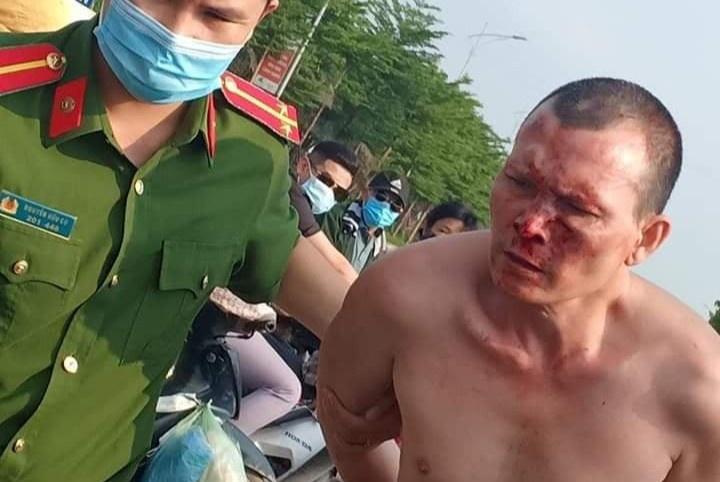 Nghi phạm cướp đâm tài xế taxi ở Hà Nội vừa bị bắt là kẻ trốn truy nã tội giết người ở Thanh Hóa - Ảnh 3.