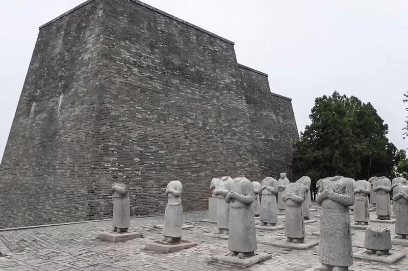 Lăng mộ Nữ hoàng Võ Tắc Thiên có gì bí mật về phong thủy? - Ảnh 1.