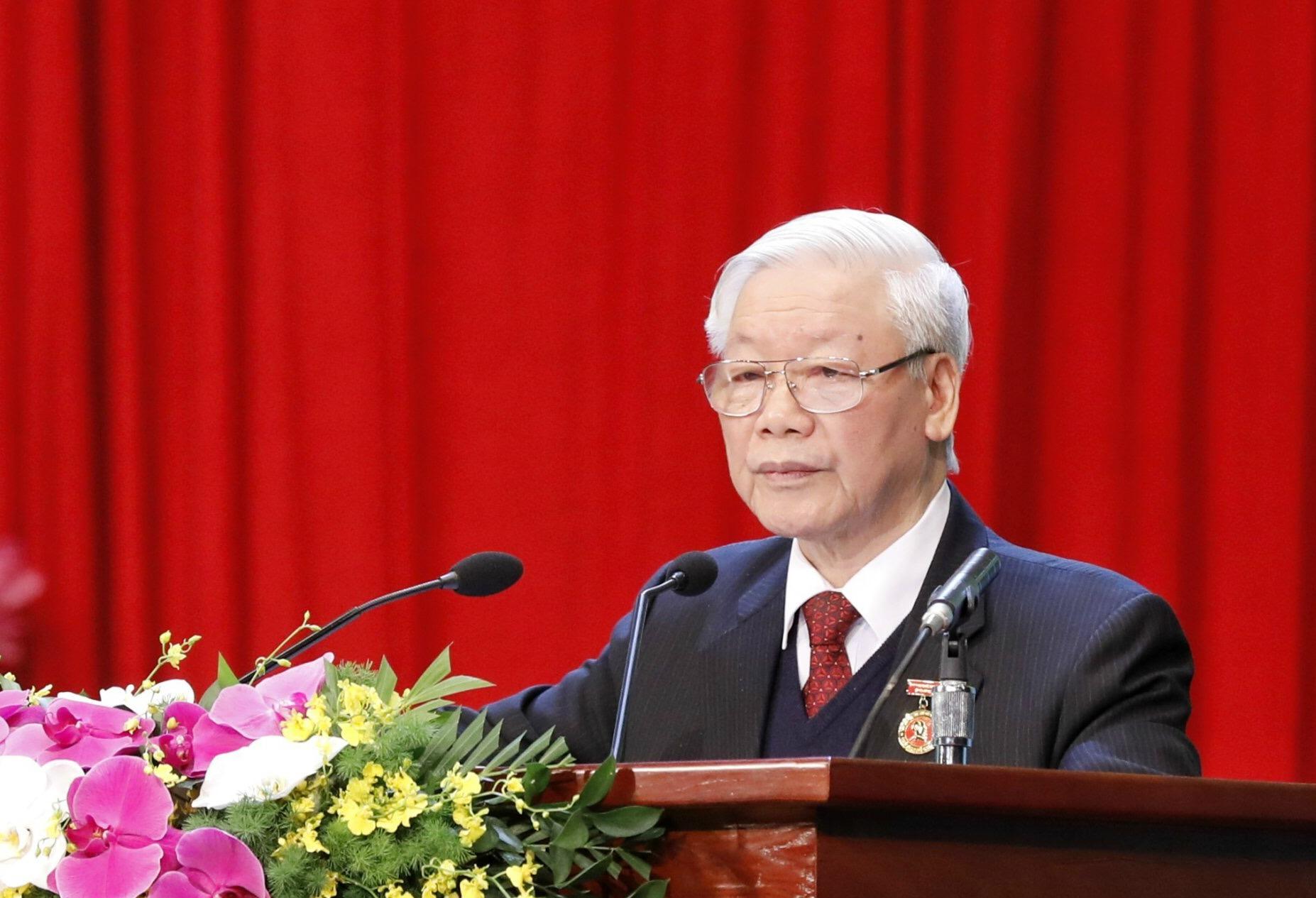 Tổng Bí thư Nguyễn Phú Trọng: Chúng ta cần một hệ thống chính trị mà quyền lực thực sự thuộc về nhân dân - Ảnh 1.