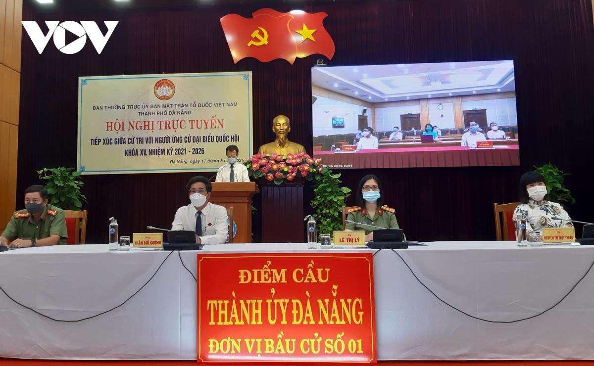 Ông Võ Văn Thưởng tiếp xúc trực tuyến với cử tri Đà Nẵng - Ảnh 1.