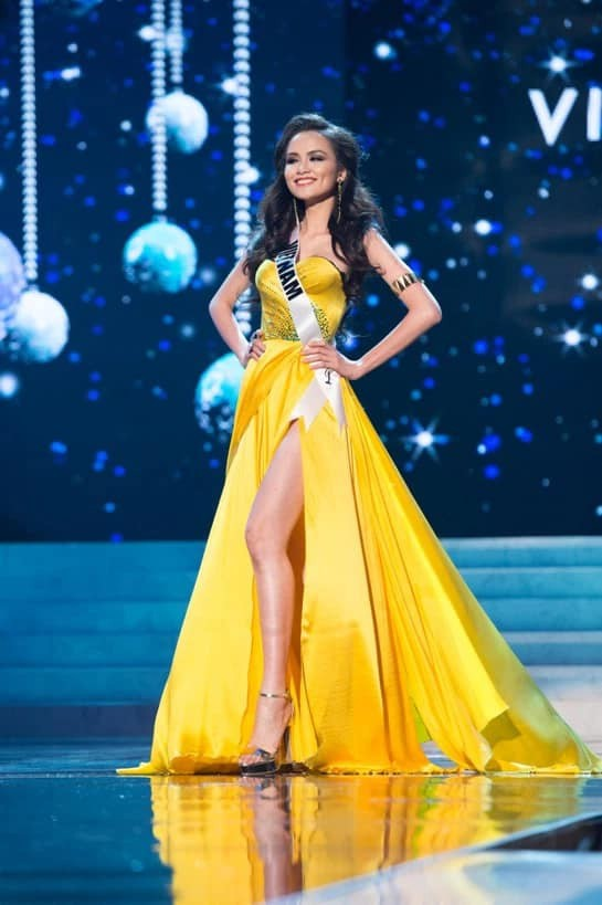 Sau 9 năm tham gia Hoa hậu Hoàn vũ thế giới, Diễm Hương giờ thay đổi ra sao? - Ảnh 3.