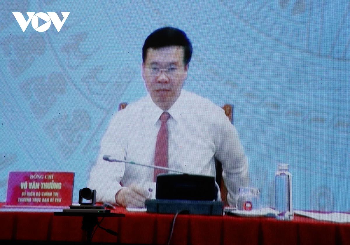 Ông Võ Văn Thưởng tiếp xúc trực tuyến với cử tri Đà Nẵng - Ảnh 2.