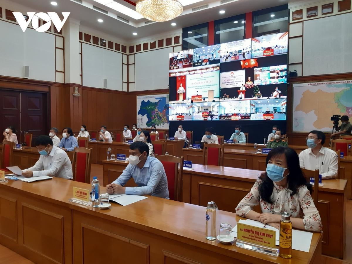 Ông Võ Văn Thưởng tiếp xúc trực tuyến với cử tri Đà Nẵng - Ảnh 3.