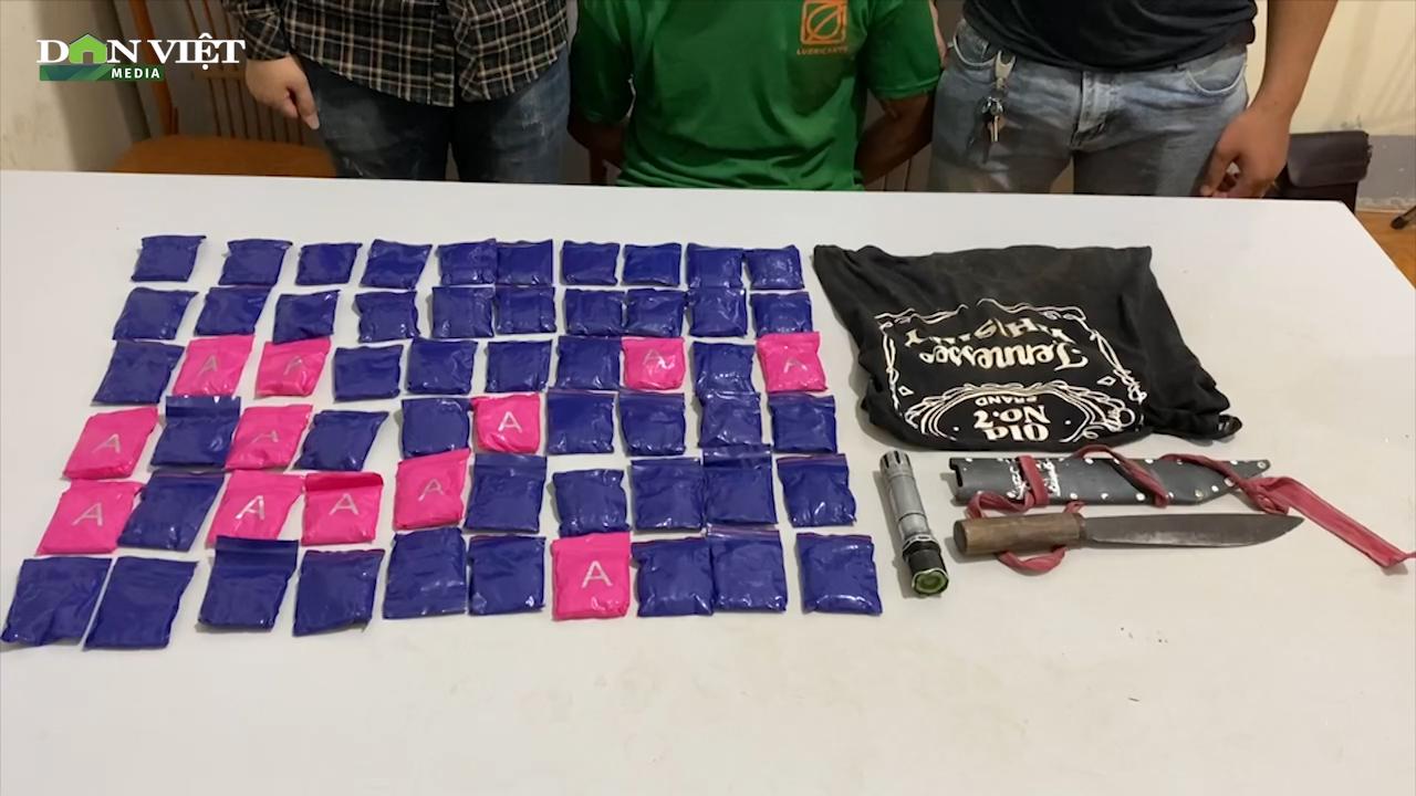 Bắt giữ đối tượng người Lào tàng trữ trái phép 12.000 viên ma túy tổng hợp - Ảnh 2.
