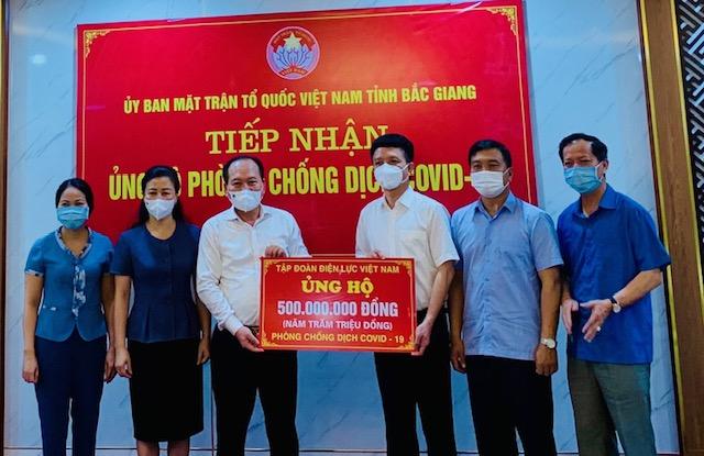 Điện lực Việt Nam ủng hộ 1,5 tỷ đồng cho Bắc Ninh, Bắc Giang và TP.Đà Nẵng để hỗ trợ phòng chống dịch Covid-19 - Ảnh 3.