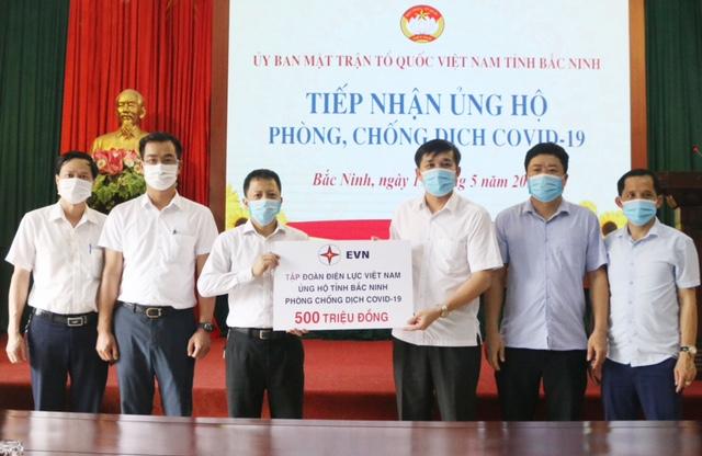Điện lực Việt Nam ủng hộ 1,5 tỷ đồng cho Bắc Ninh, Bắc Giang và TP.Đà Nẵng để hỗ trợ phòng chống dịch Covid-19 - Ảnh 2.