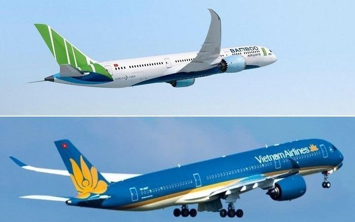 Vietnam Airlines và Bamboo Airways chưa đủ điều kiện bay tới Mỹ