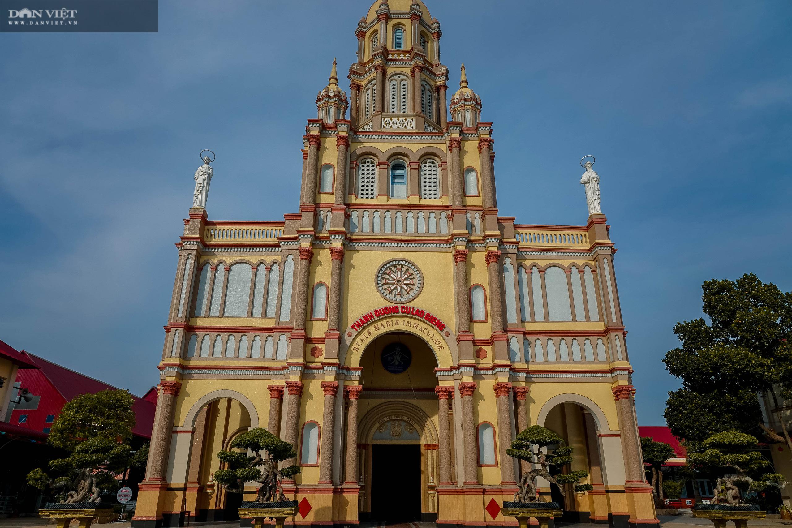 Chiêm ngưỡng vẻ đẹp của thánh đường xưa nhất miền Tây ở Cù Lao Giêng - Ảnh 3.