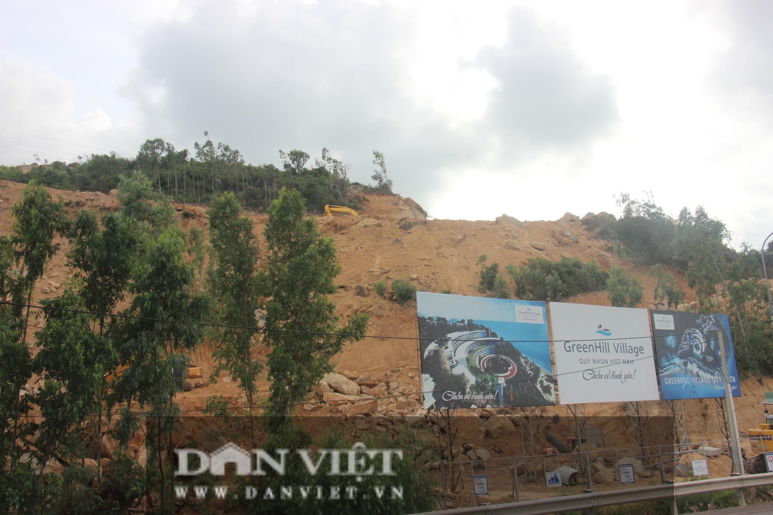 Dự án Greenhill Village Quy Nhơn ồ ạt lấy đất khi chưa được phép, phường 'không biết', Sở 'không hay' - Ảnh 1.