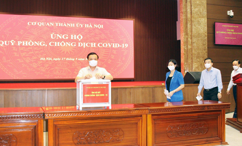 Hà Nội kiến nghị Thủ tướng cho phép tăng 70% mức bồi dưỡng lực lượng phòng, chống dịch Covid-19 - Ảnh 1.
