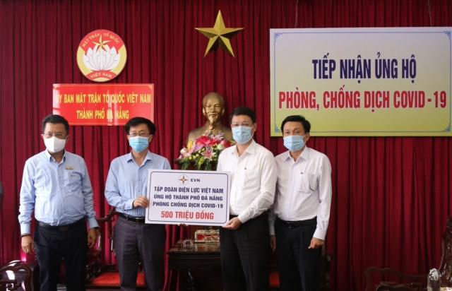Điện lực Việt Nam ủng hộ 1,5 tỷ đồng cho Bắc Ninh, Bắc Giang và TP.Đà Nẵng để hỗ trợ phòng chống dịch Covid-19 - Ảnh 1.