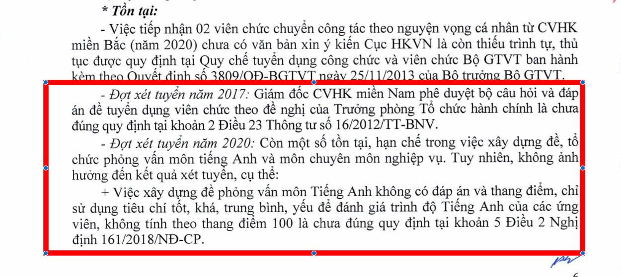 Chuyện lạ: Cục Hàng không tuyển viên chức có đề thi nhưng không có đáp án, ứng viên trúng tuyển - Ảnh 1.