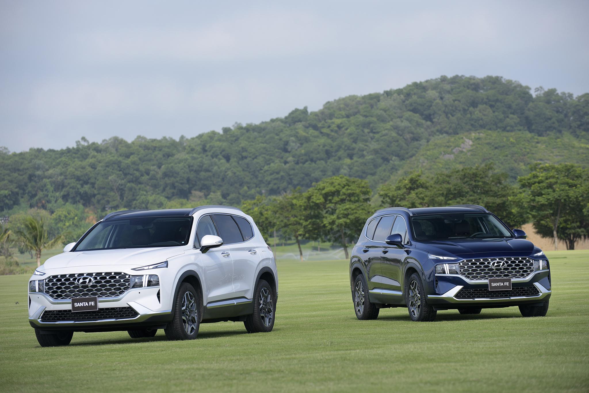 Hyundai Santa Fe 2021 chính thức ra mắt tại Việt Nam - Ảnh 12.