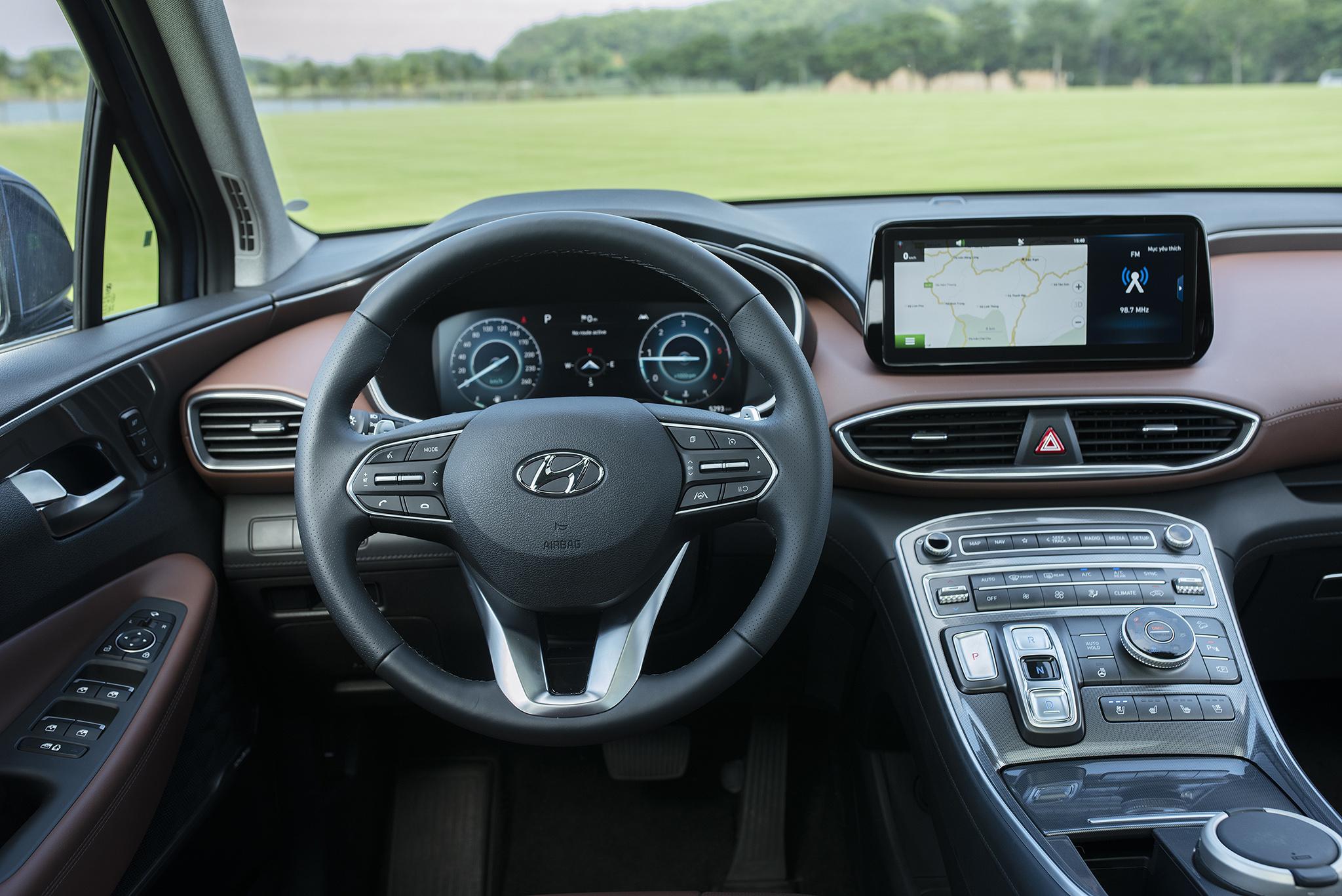Hyundai Santa Fe 2021 chính thức ra mắt tại Việt Nam - Ảnh 6.