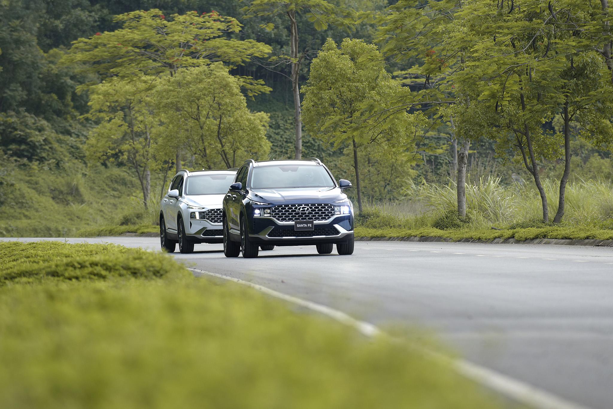 Hyundai Santa Fe 2021 chính thức ra mắt tại Việt Nam - Ảnh 10.
