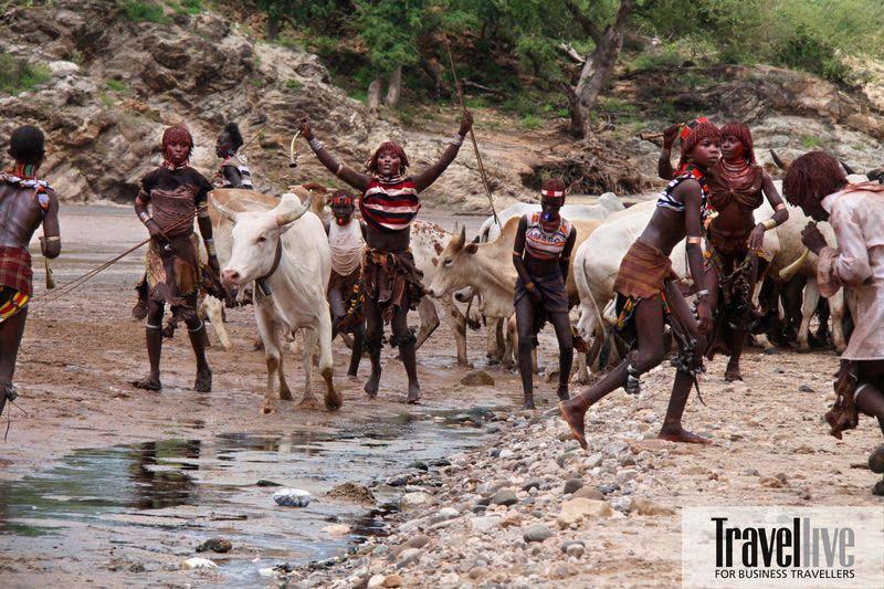 Châu Phi: Độc đáo tục lệ đàn ông bộ tộc Karo tự rạch thân thể tạo sẹo để thể hiện lòng dũng cảm - Ảnh 3.