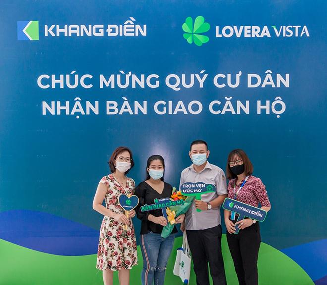 Bàn giao Lovera Vista vượt tiến độ, Khanh Điền tiếp tục khẳng định uy tín thương hiệu - Ảnh 1.