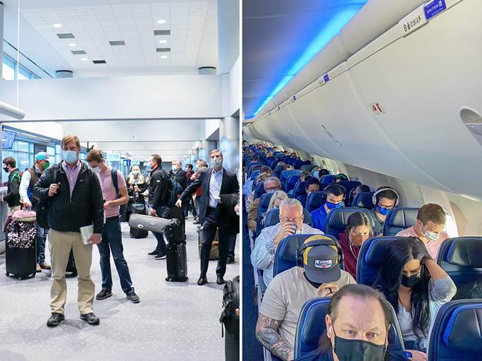 Nhiều sân bay khắp thế giới lại nhộn nhịp với các chuyến bay kín chỗ - Ảnh 1.