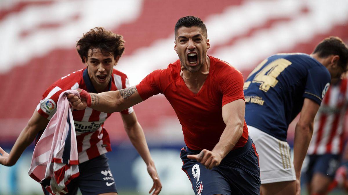 """Atletico Madrid hạ Osasuna, HLV Simeone đưa Luis Suarez """"lên mây xanh"""" - Ảnh 1."""