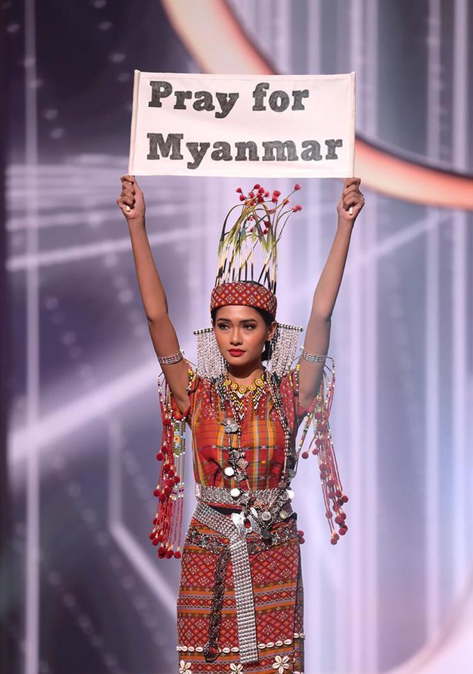Người đẹp Ấn Độ lọt Top 5, Khánh Vân trượt Top 10 Miss Universe 2020 - Ảnh 2.