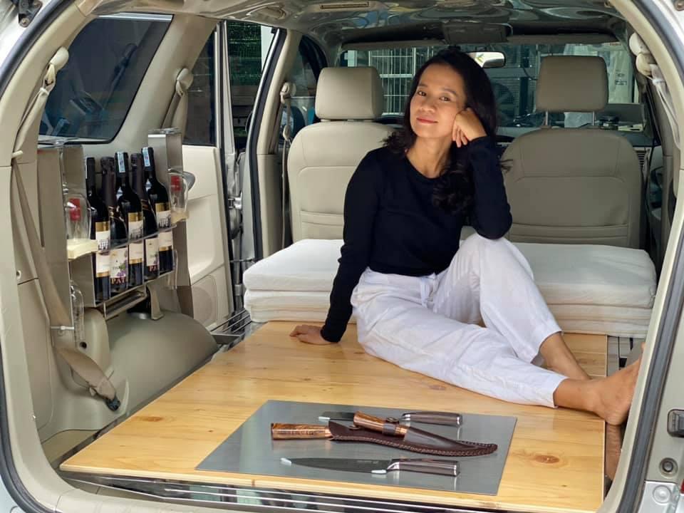 """""""Hô biến"""" ô tô thành nhà di động, đưa bạn gái du lịch khắp Việt Nam - Ảnh 3."""