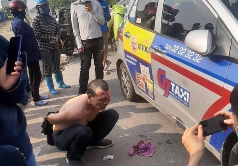 Đối  tượng  dùng dao đâm lái xe taxi ở Hà Nội có thể phải đối mặt với hình  phạt nào? - Ảnh 1.