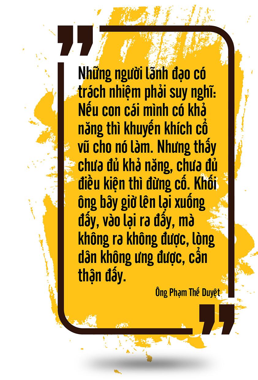 Ông Phạm Thế Duyệt: Tình yêu lớn của cuộc đời (Kỳ 2) - Ảnh 6.