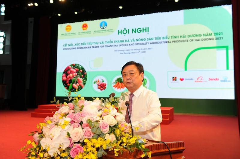 Hải Dương: Vải thiều Thanh Hà là sản phẩm mũi nhọn, tạo ra giá trị cao so với các quốc gia trồng vải khác - Ảnh 2.