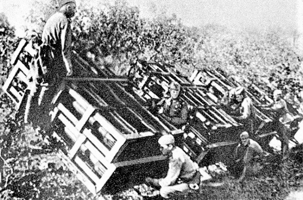 Tên lửa bắn loạt M-30 - vũ khí khiến quân Đức sợ hơn cả Katyusha - Ảnh 1.