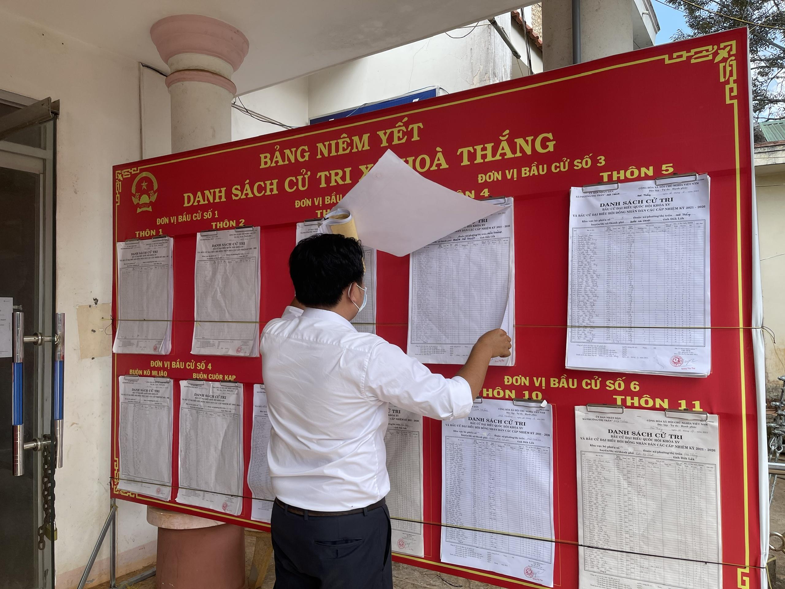 Đắk Lắk: Công tác chuẩn bị bầu cử ở thành phố lớn nhất Tây Nguyên  - Ảnh 5.