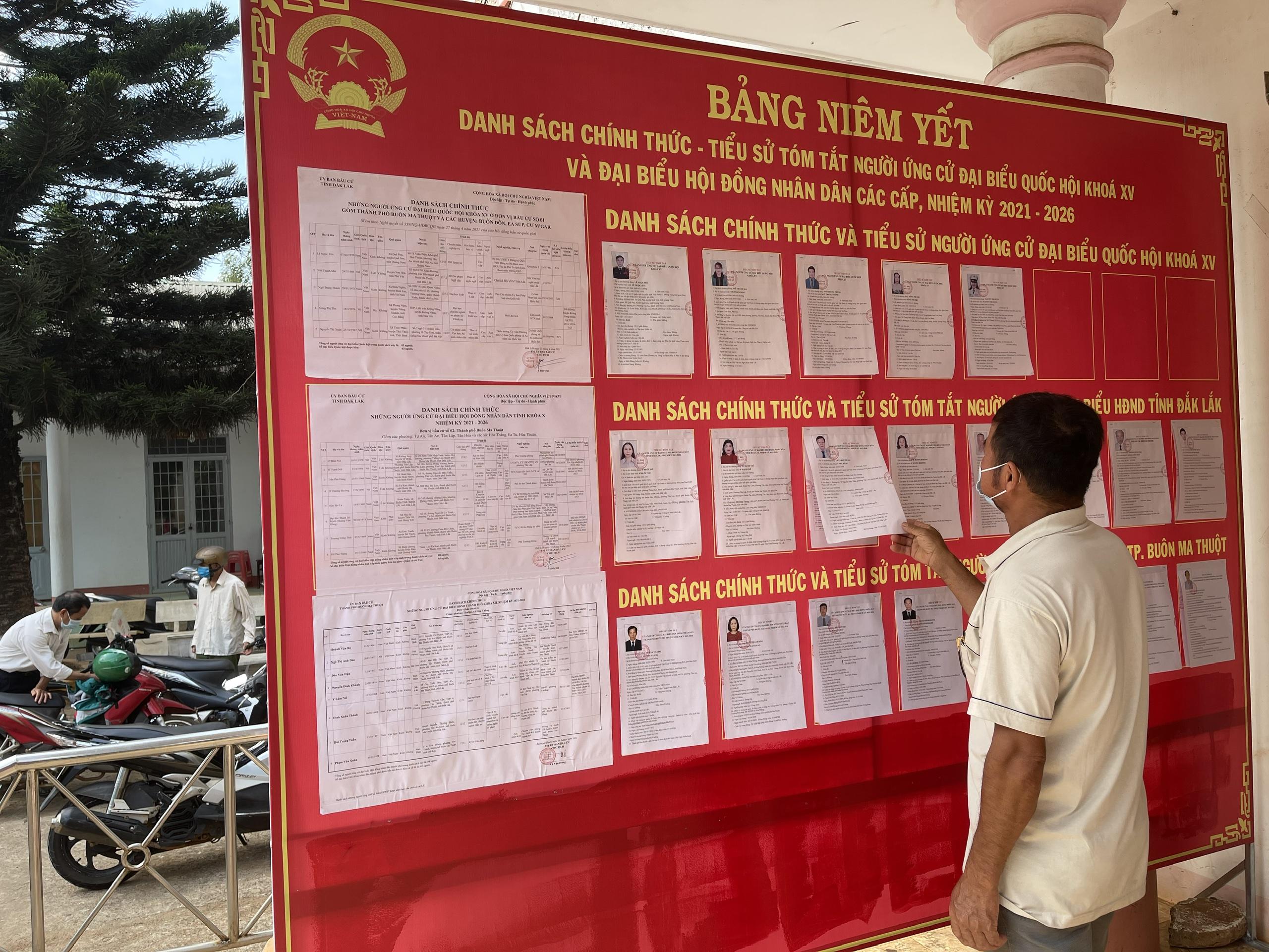 Đắk Lắk: Công tác chuẩn bị bầu cử ở thành phố lớn nhất Tây Nguyên  - Ảnh 6.
