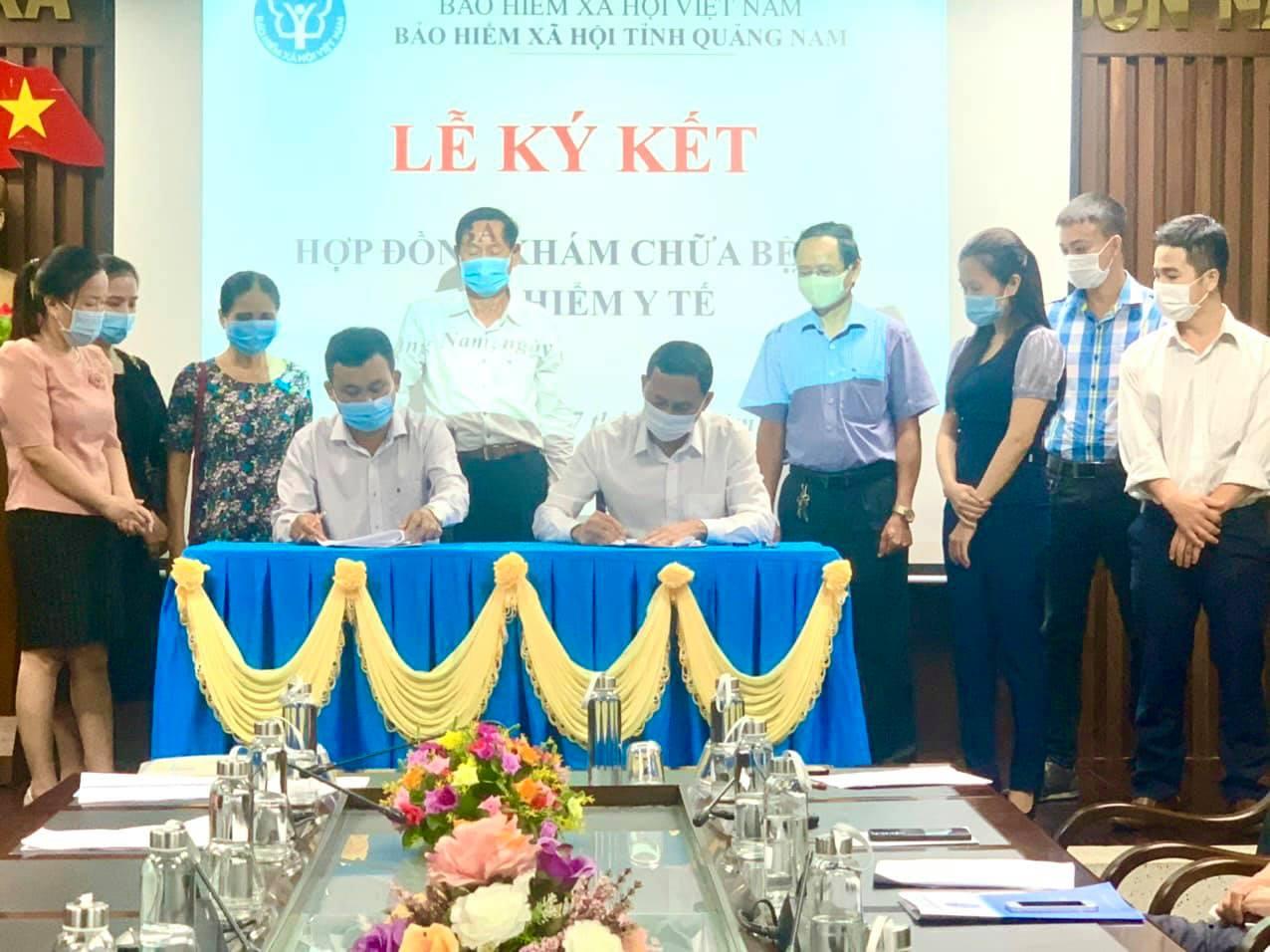 Một phòng khám tư nhân ở Quảng Nam được quyền khám chữa bệnh BHYT - Ảnh 1.