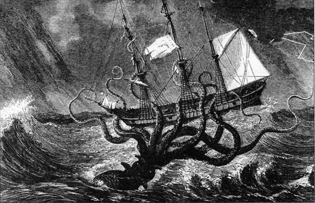 Giả thiết đằng sau những câu chuyện thần thoại về nàng tiên cá, quái vật Bigfoot và Kraken - Ảnh 4.