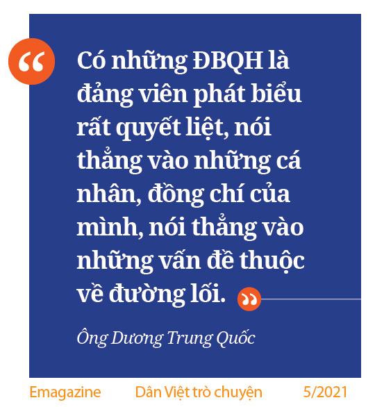Ông Dương Trung Quốc chia sẻ những chuyện ít người biết sau 20 năm gắn bó nghị trường - Ảnh 13.