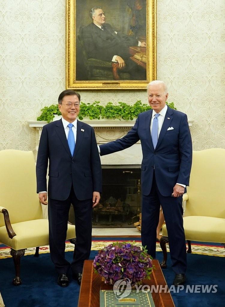 Hội nghị thượng đỉnh Moon-Biden đã thống nhất các điều kiện chung để đối thoại với Triều Tiên - Ảnh 1.